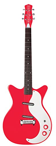 DANELECTRO 59 MODIFIED NEW OLD GUITARRA ELECTRICA  COLOR ROJO