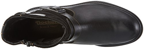 Dockers by Gerli 39fi003-182100, Bottines à doublure froide homme Noir - Noir