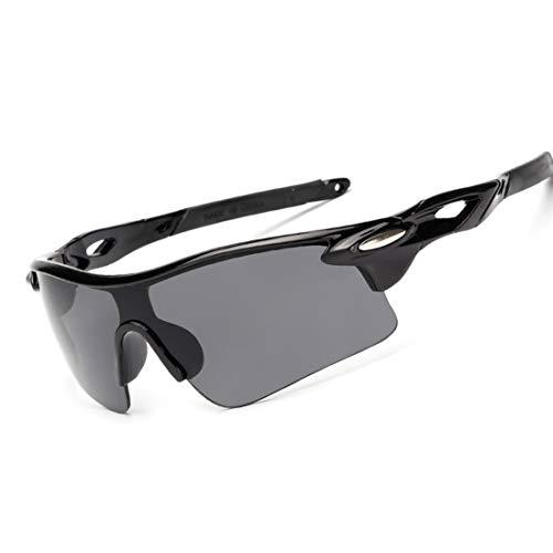 Olprkgdg Outdoor-Sportbrillen Angeln Winddicht Fahrrad Mountainbike Sonnenbrillen Männer und Frauen Brille Reiten Brille (Color : C)