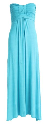 Unknown - Robe -  Femme Turquoise - Turquoise