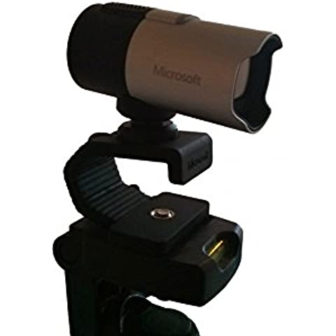 Microsoft Webcam Lifecam Studio y trípode