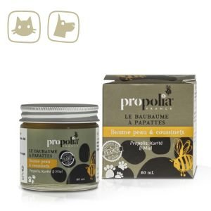 Propolis Dogs / Pets Skin / Paw Pads Balm for Injured Skin 60ml