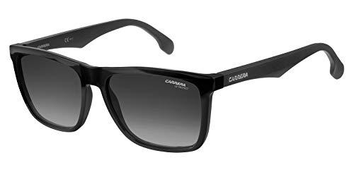 Carrera Unisex-Erwachsene 5041/S 9o Sonnenbrille, Schwarz (Black/Dark Grey Sf), 56