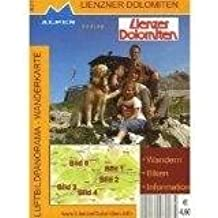 Luftbildpanorama - Wanderkarte Lienzer Dolomiten