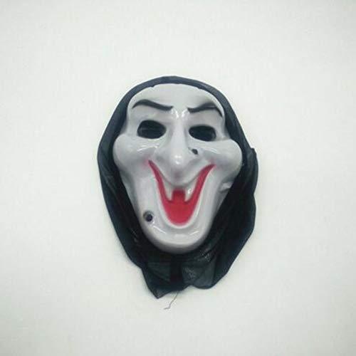 Bluelover Halloween Scary Mask Party Requisiten Gesichtsmaske Hip-Hop Geist Tanz Totenkopf Maske - 05