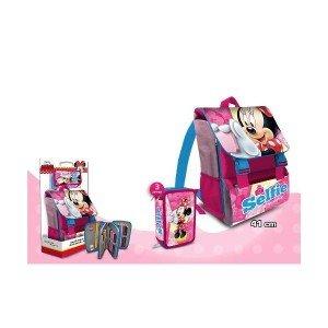 Kids Euroswan – Minnie Mouse MI16111. Set mochila italiana 41cm. + plumier 3 cierres.