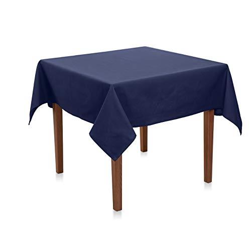 chdecke Baumwolle Canvas (Marine Blau, 80x80 cm) ()