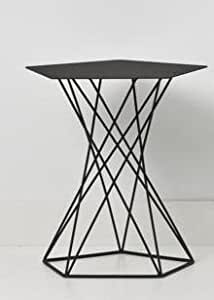 cascando Basket Table d'appoint Noir 1083.b Design Peter Van de Water