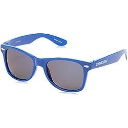 Cressi Gafas de sol Yogi para niños, unisex, 100% de protección UV, 5 - 9 años, Azul/Lentes grises