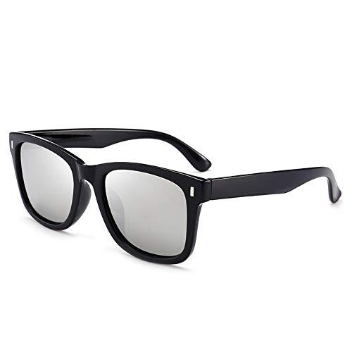 ZUEN Sonnenbrille Polarizer Men ' S Fashion Wild Classic Retro Sonnenbrille Uv400, Eye,Silver
