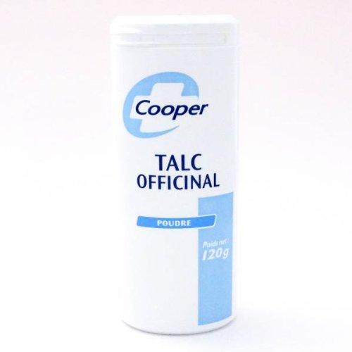 Cooper talc officinal poudre 120g
