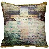 Make A Joyful Noise Unto The Lord Bible Verse Throw Pillow Case