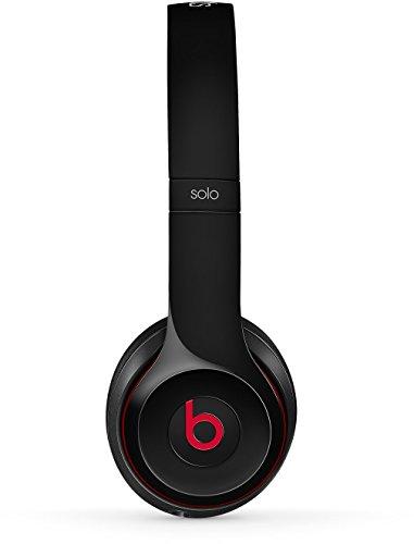Beats by Dr. Dre Solo2 - Auriculares con diadema, 3.5 mm, alámbrico, color negro