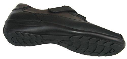 Ara 12-46349 donna scarpe larghezza H Nero/Grigio