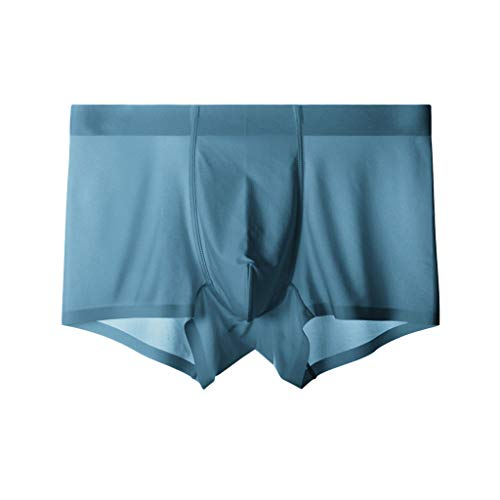 Magic Silk Seide Shorts (Ausverkauf  LEEDY Herren Fashion Ice Silk atmungsaktive Hosen Shorts L/XL/XXL/XXXL/XXXXL)