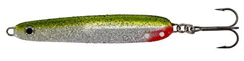 Westin Bornholmerkøl 22g 7,9cm, Angelköder für Meerforellen, Lachs, Hornhecht, Küstenblinker für Ostsee, Nordsee, Meerforellenköder, Köder zum Spinnfischen an der Küste, Farbe:Silver Grass