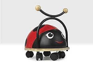 Beehive Toys Ladybird Ride on Toy con Ruedas para niños de 1 a 3 años