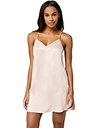 Iris & Lilly Women's Satin Negligee
