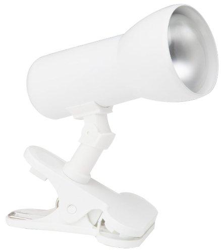 Brilliant 06301T05 Minor 60W Klammerleuchte weiß