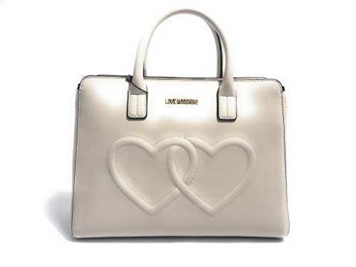 Love Moschino Borsa Lamb Femme Handbag Noir Avory
