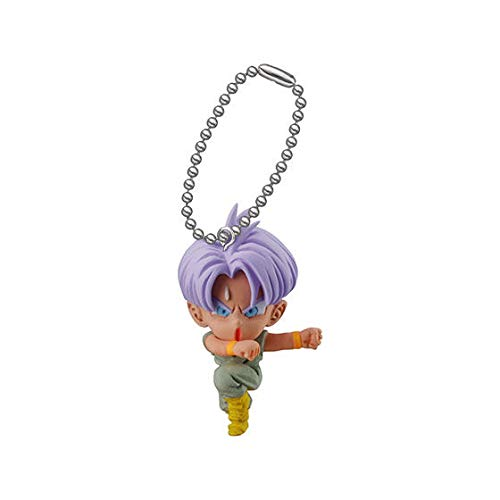 Bandai Gashapon Dragon Ball Udm Burst 33 Figure Swing Keychain~Trunks Childhood Mobile Trunk