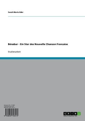 Bénabar - Ein Star des Nouvelle Chanson Francaise