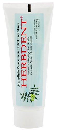 Herbdent Herbdent, Ayurvedische Zahncreme mit Xylitol + Calcium