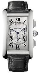 Idea Regalo - Cartier Americaine W2609456 Orologio da polso da uomo grande