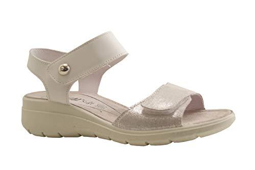 ENVAL SOFT Sandalo Donna Pelle ARGEN