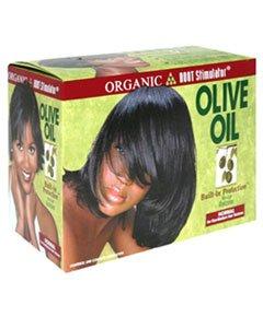 Organic Root Stimulator Olive Oil No-lye Relaxer Super (Olive Root Oil Relaxer Stimulator Organic)