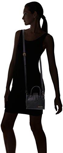 FLY London Blif582fly, Sacs Portés Épaule Femme, 5x20x20 cm Noir (Black)