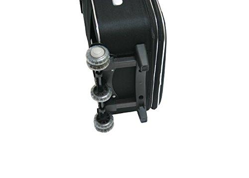 JustGlam – Equipaje de mano Trolley Ormi semirrígidos 5 ruedas adecuadas para vuelos lowcost /