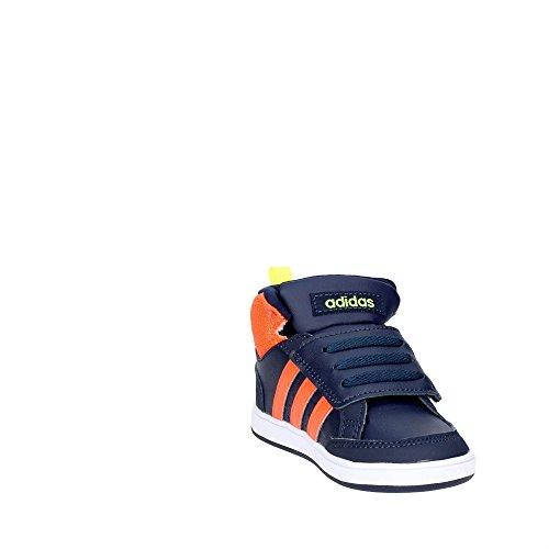 adidas Hoops Cmf Mid Inf, Scarpe da Ginnastica Unisex – Bambini Blu ( Maruni/Narsol/Azusol)