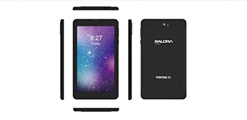 Salora Fontab FT-16/002 Tablet (8GB, 7 Inches, WI-FI) Black, 1GB RAM Price in India