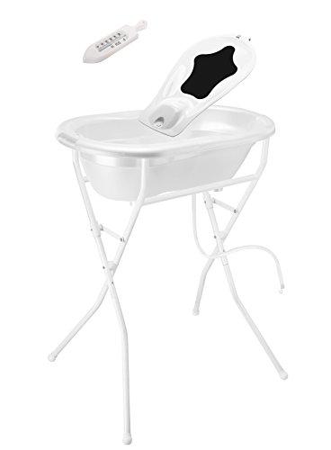 Rotho Babydesign 21036 0001 01 Badeset, weiß