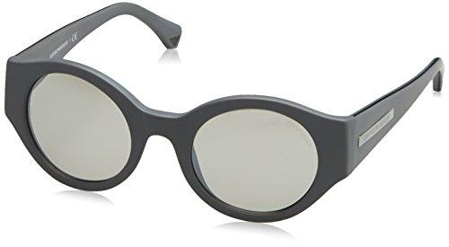 Emporio Armani homme 0EA4044 53666G 47 Montures de lunettes, Gris (Matte  Grey Silver) 23fad3ddff39