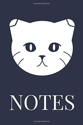 Notes: College Lined Journal With Scottish Fold