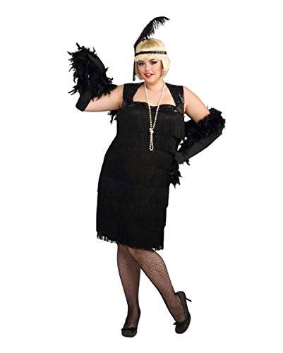 Horror-Shop Charleston Flapper Kostüm ()