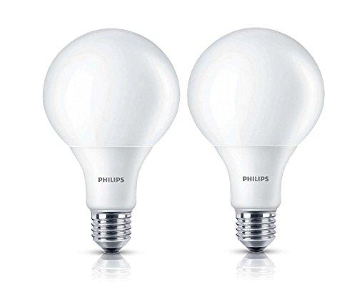 2er-Pack Philips LED Globe 9,5W ersetzen 60W Fassung E27 8718291717041 - Philips Globe