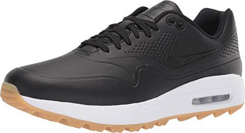 Nike Herren Air Max 1 G Golfschuhe, Schwarz (Negro/Blanco 001), 44 EU (Nike Golf Schuhe Männer)