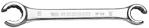 FACOM offener Ringschlüssel Maulstellung 15GR.Länge 210 mm, 1 Stück, 42.11/16X3/4