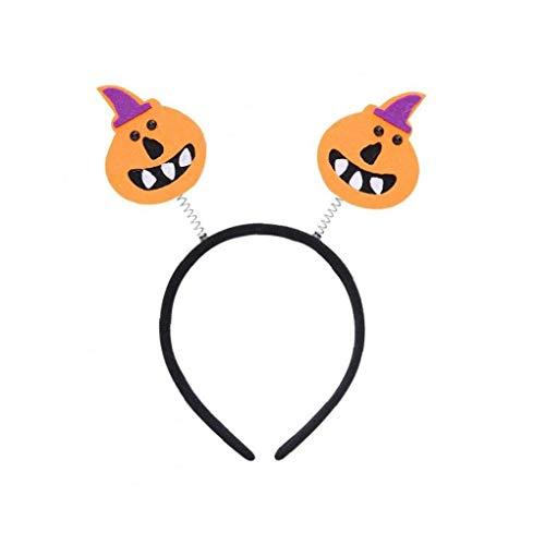 1pc Kürbis Halloween-Schädel-Entwurf Kostüm Kopfstück - Feiern Verkleiden Partei Stirnband - Maskerade Festliche Dekoration Gesicht Kopfschmuck Accessoire. (Halloween Animierte Kürbis)