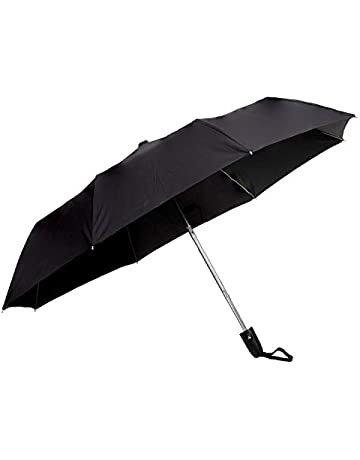 329d47211 Sun Umbrella Classic Folding Automatic Open Uv Protective Umbrella, Black