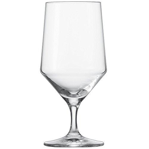 Schott Zwiesel 112842 Serie Pure 6-teiliges Wasserglas Set, Kristallglas