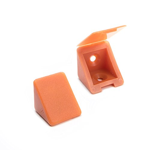 100 x Conector de muebles/conector angular con tapa | Sossai BT1, 2...