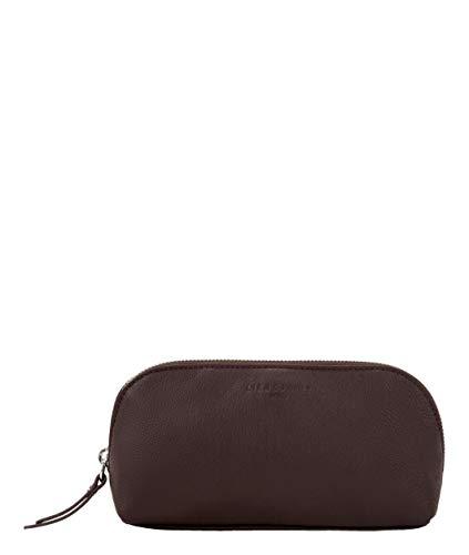 Liebeskind Berlin Damen Basic SLG-Cosmic Cosmetic Pouch Taschenorganizer, Braun (Dark Brown), 7x10x22 cm