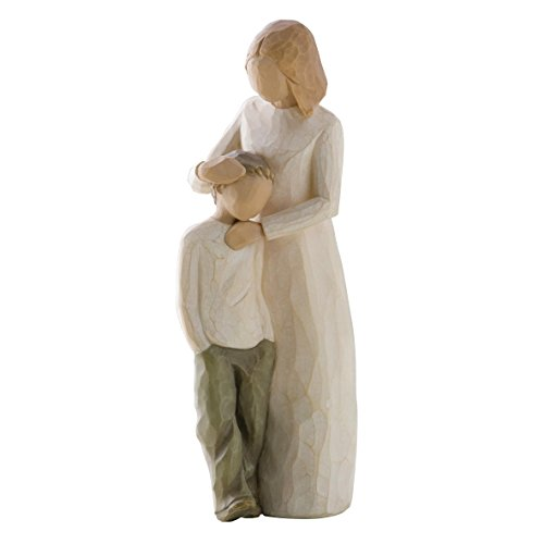 Willow Tree 26102 Figur Mutter und Sohn, 3,8 x 3,8 x 20,3 cm