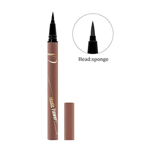 Ardorlove Press-Type Eyeliner Long-Lasting Waterproof Smudge-Proof Easy To Use Eyeliner Liquid Pen