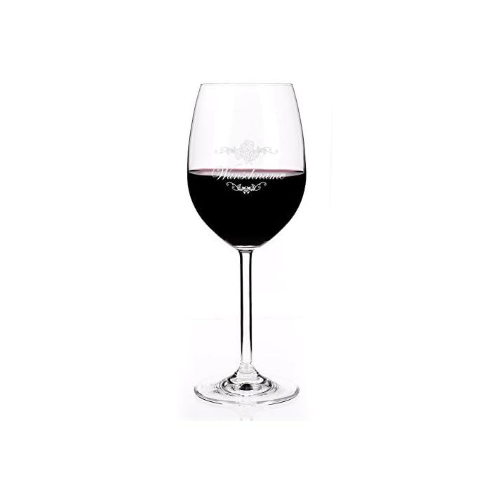 Leonardo Weinglas mit Gratis Gravur des gewünschten Namens