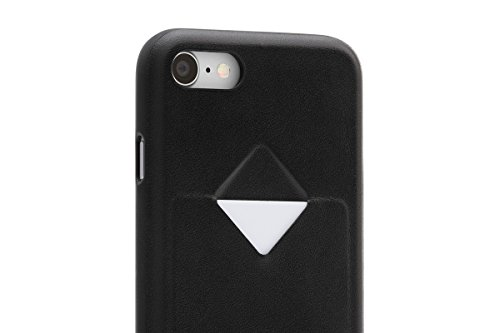 Bellroy iPhone 8 / 7 Phone Case - 1 Card aus Leder, Farbe: Arctic Blue Black
